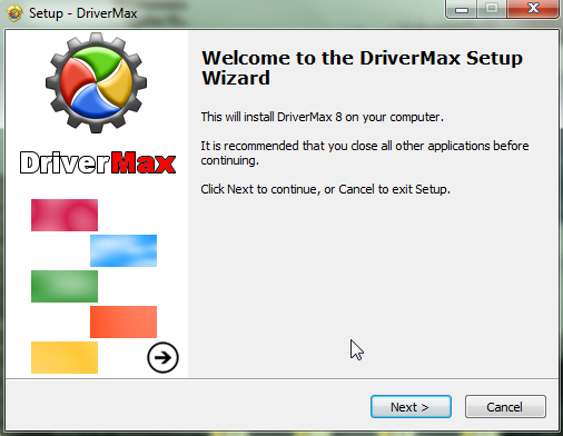 установка DriverMax
