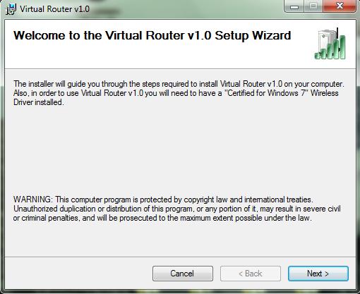 установка VirtualRouterManager